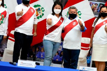 """Keiko Fujimori y César Acuña en alianza: """"No podemos repetir errores del pasado"""""""