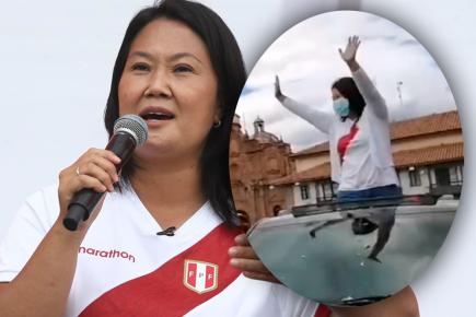 Keiko Fujimori no fue bien recibida en Cusco y cancela  mitin (VIDEO)
