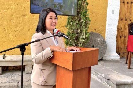 Keiko Fujimori desde Arequipa: Pido perdón a todos los que haya defraudado (VIDEO)