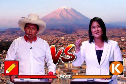 Debate presidencial en Arequipa: todo listo para duelo Pedro Castillo – Keiko Fujimori