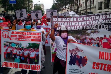 Así se desarrolló la marcha contra Keiko Fujimori a nivel nacional (VIDEO)