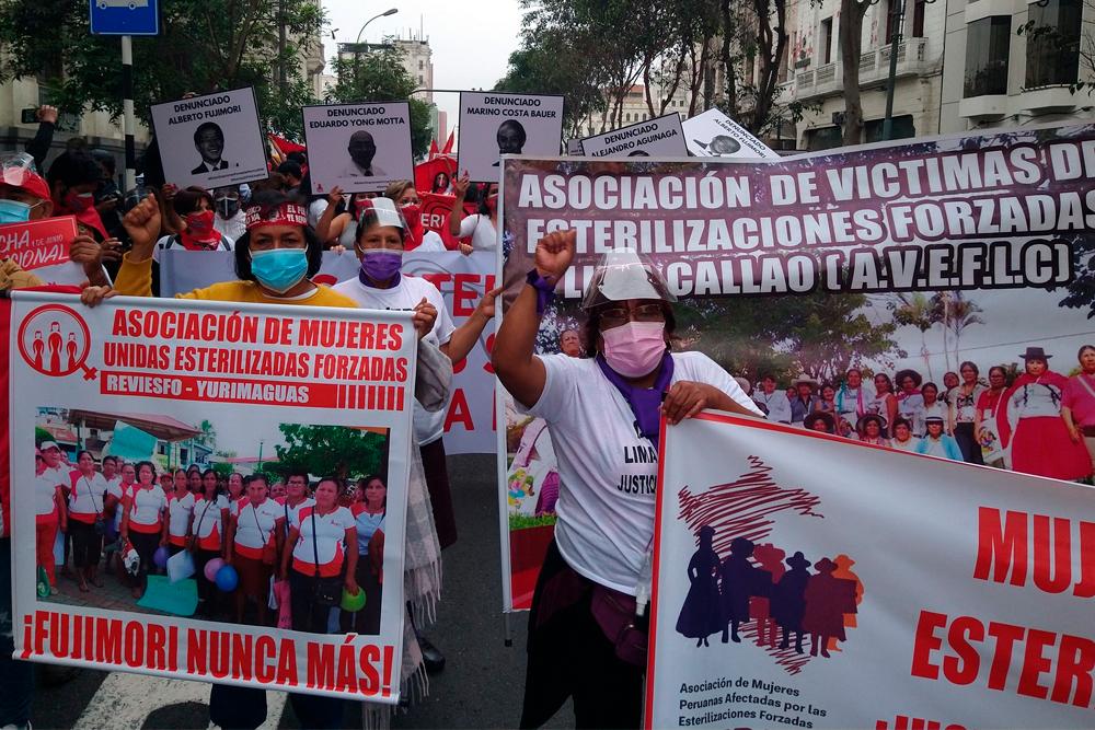 marcha nacional keiko no va