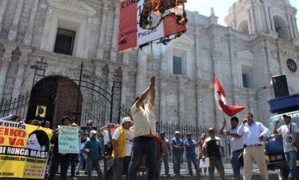 Arequipa: FDTA posterga marchas el día del debate, para prevenir contagios
