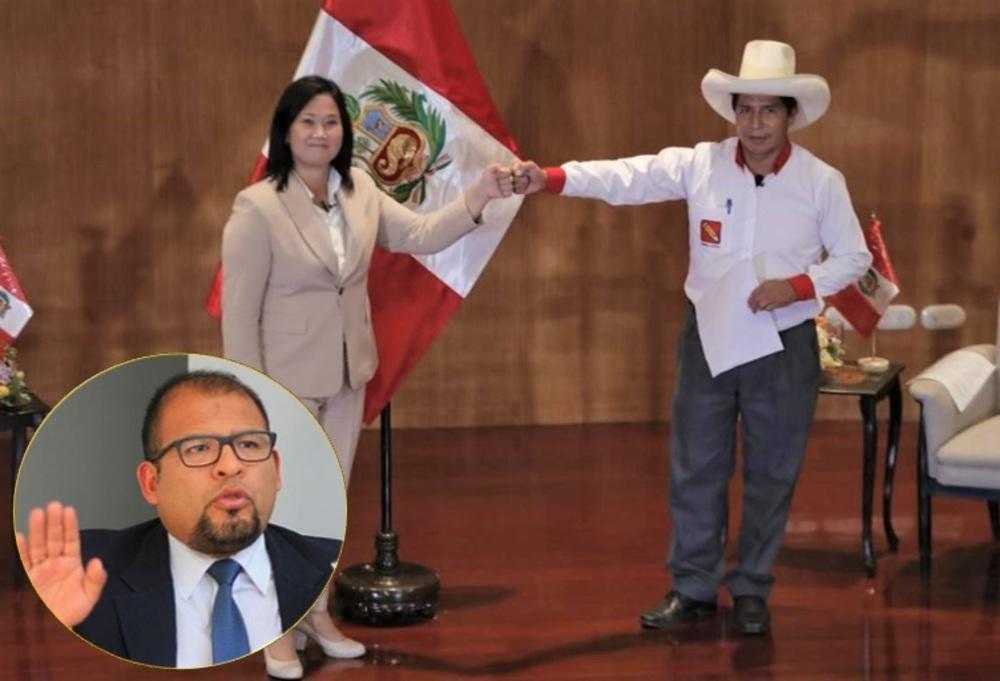 Inmovilización para debate en Arequipa entre Keiko Fujimori y Pedro Castillo.