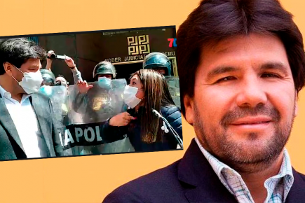Carlos Paredes: Abofeteado por faltar a la verdad (VIDEO)