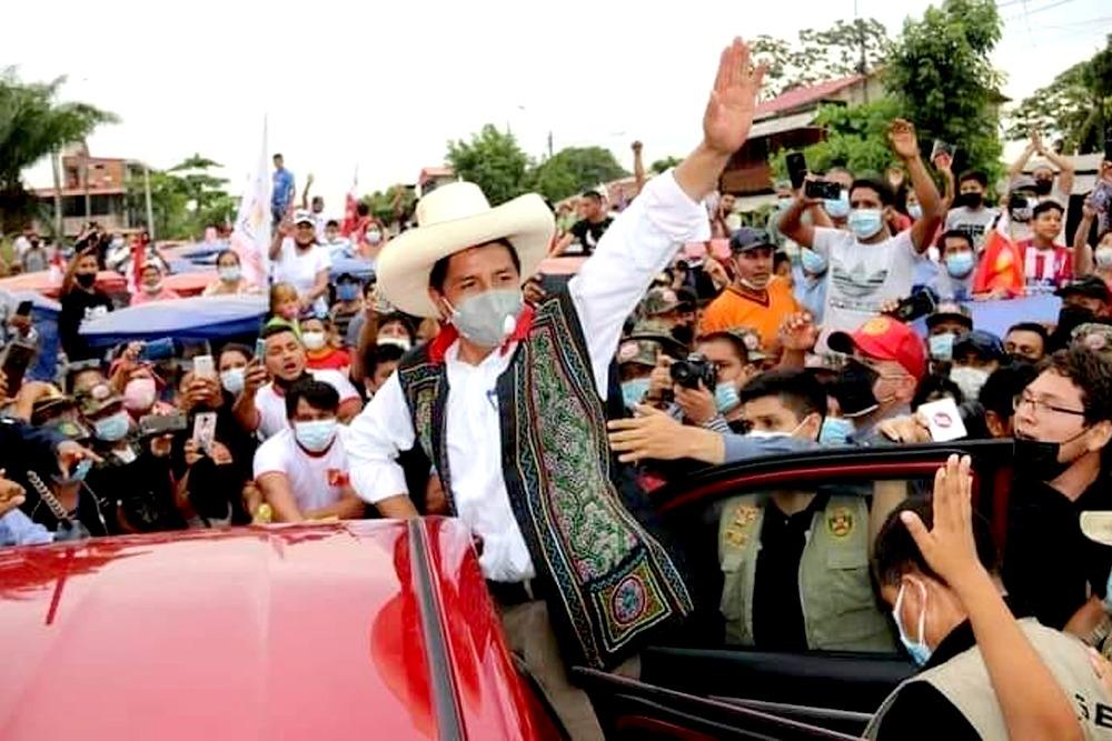 Pedro Castillo en Arequipa.