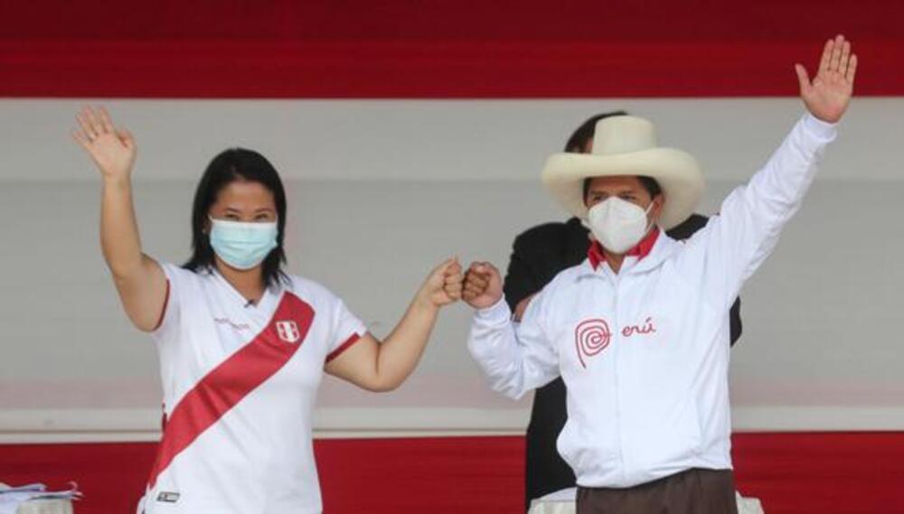 Debates entre Pedro Castillo y Keiko Fujimori