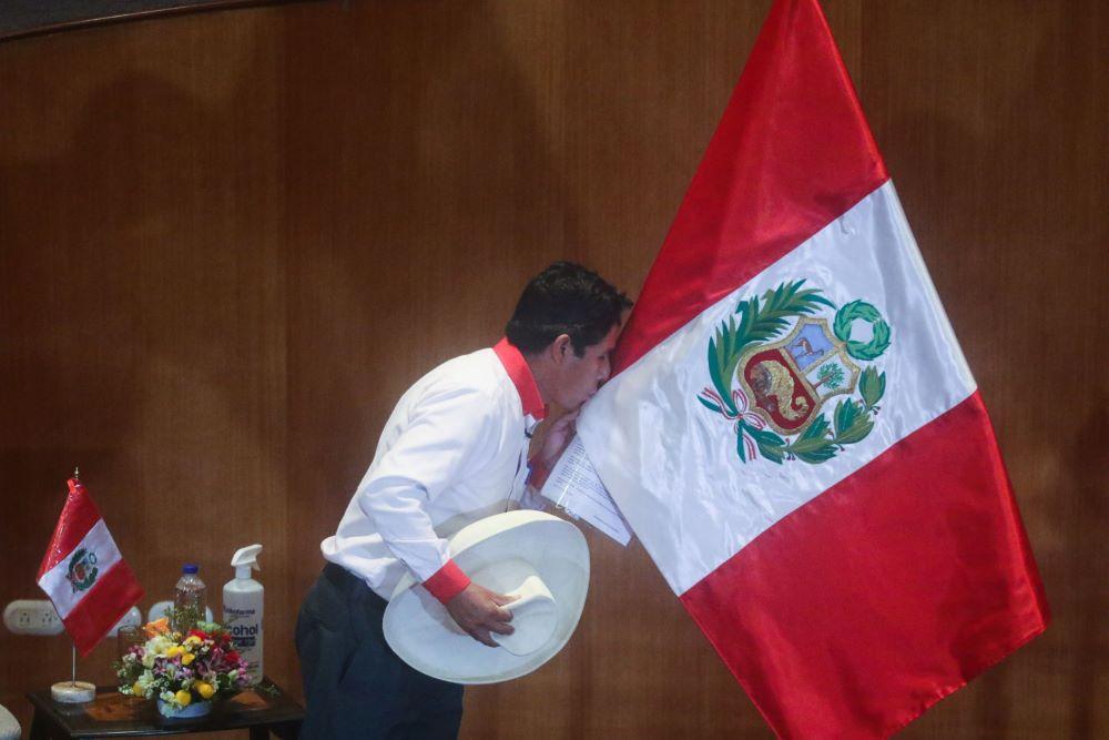 Pedro Castillo proclama ciudadana