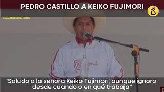 Desde Chota: así se desarrolló el encuentro entre los candidatos Castillo y Fujimori