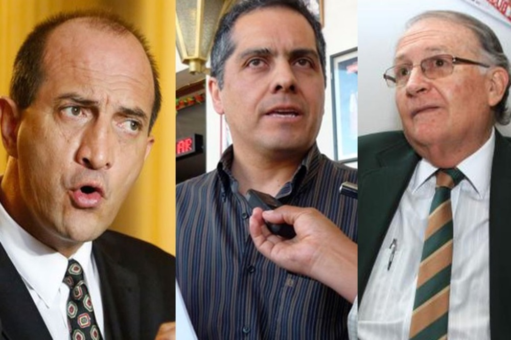 Políticos en Arequipa a favor de Keiko Fujimori, y oposición a Pedro Castillo.