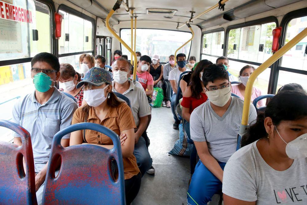 Transporte en Arequipa, durante inmovilización social obligatoria, por debate presidencial.