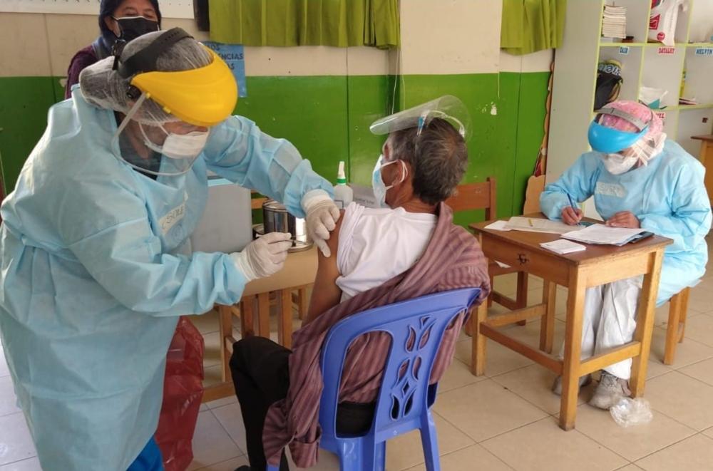Arequipa: vacunación a mayores de 40 años empieza el próximo lunes, contra covid-19.