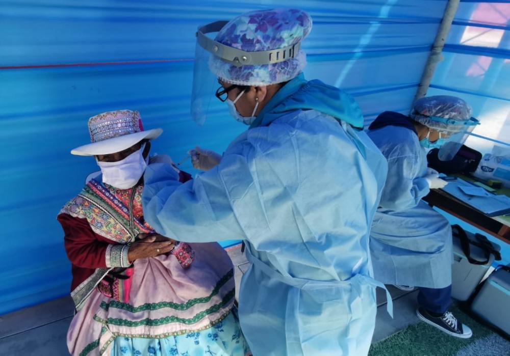 Arequipa: vacunación contra la covid-19 se descentraliza