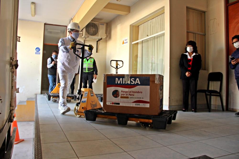 Arequipa: ¿a quienes se destinarán las 51 mil 480 vacunas de Pfizer?