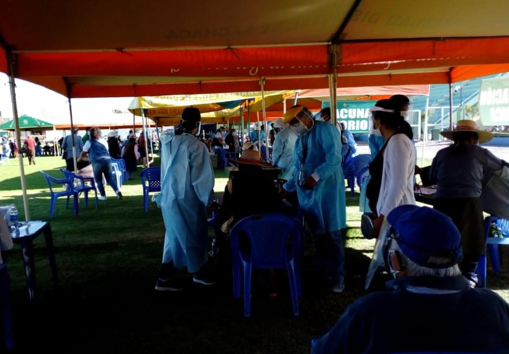 Arequipa: no habrá vacunación a rezagados este lunes, pero se viene vacunatón