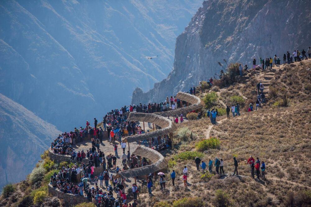 El Valle del Colca (Arequipa) recibió la máxima distinción como recurso turístico internacional.