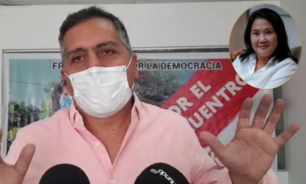 Yamel Romero, tras apoyo a Keiko Fujimori en Arequipa.