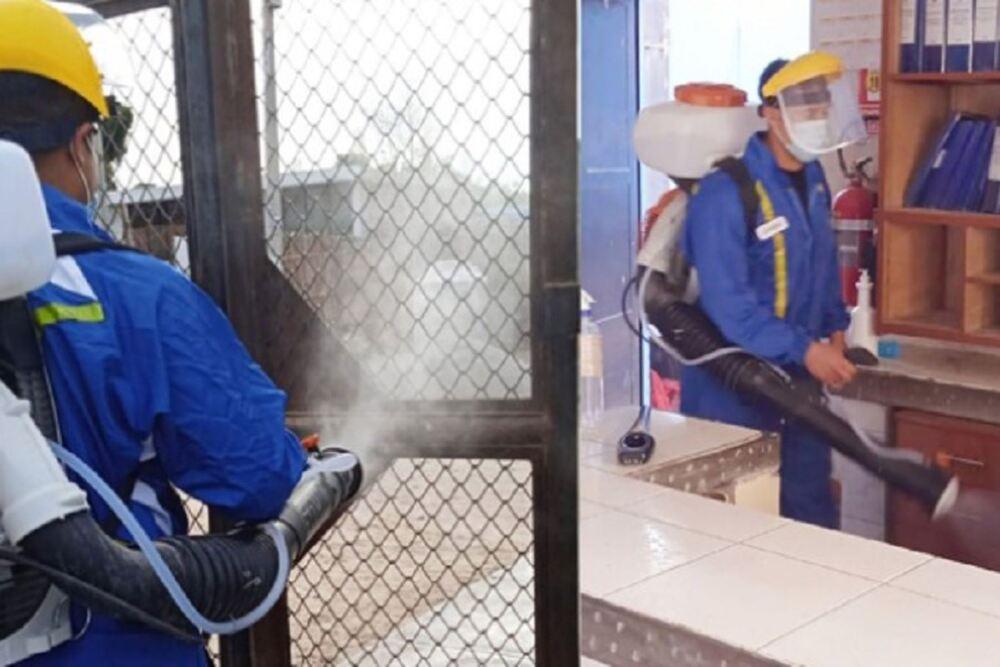 El Gobierno Regional de Arequipa comunicó que a partir de hoy se iniciará una fumigación de su local en la Av. Kennedy.