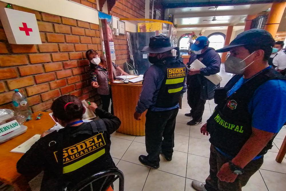 arequipa municipios contagios covid-19