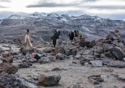 Arequipa: productora británica graba videoclip en el Mirador de los Volcanes