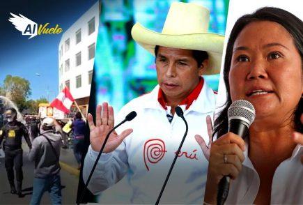 keiko Fujimori Pedro Castillo