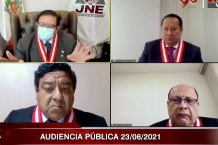 """JNE desestimó 10 recursos de apelación de Fuerza Popular por """"fraude electoral"""""""