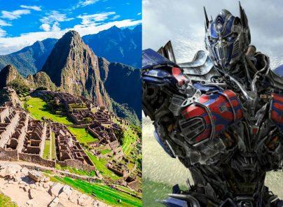 La nueva película de Transformers se filmará en Tarapoto y Machu Picchu