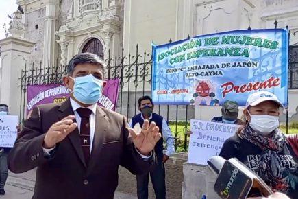 Piden a MPA defender terrenos públicos en Cayma de invasiones