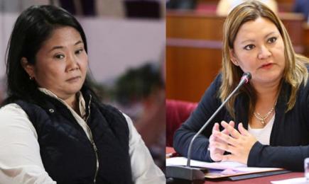 Perú Libre denuncia a Milagros Takayama y Keiko Fujimori por delito electoral