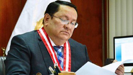 JNE: Suspenden en el ejercicio del cargo a Luis Arce hasta que termine el proceso electoral