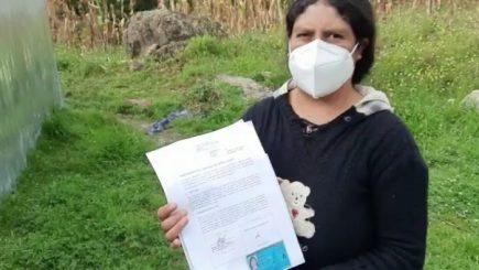 Chota: Presidenta de mesa desmiente a FP y asegura que acta sí lleva su firma