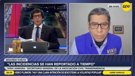 """""""Casos denunciados no implican un indicio de fraude"""" según Transparencia"""