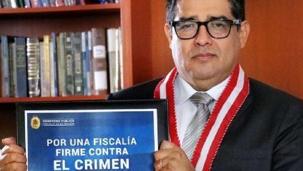 Fiscal de la Nación: Víctor Rodríguez Monteza se incorporará al JNE
