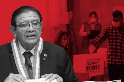 Los ataques contra el JNE que pretenden enlodar la segunda vuelta de las elecciones