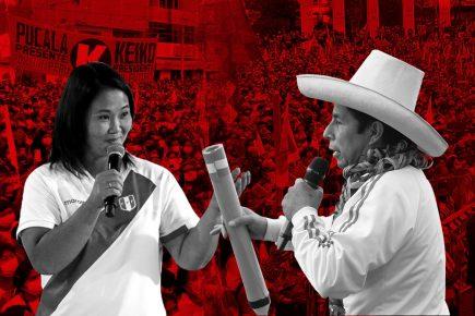 pedro castillo keiko fujimori elecciones 2021 segunda vuelta perú libre fuerza popular