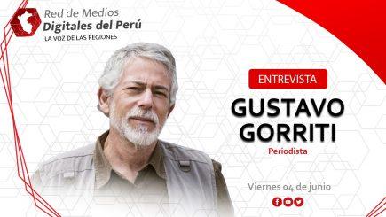 Gustavo Gorriti en entrevista con la Red de Medios Digitales del Perú