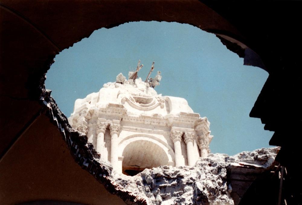 terremoto en Arequipa