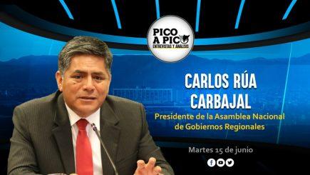 Pico a Pico: entrevista con el presidente de la Asamblea Nacional de Gobiernos Regionales