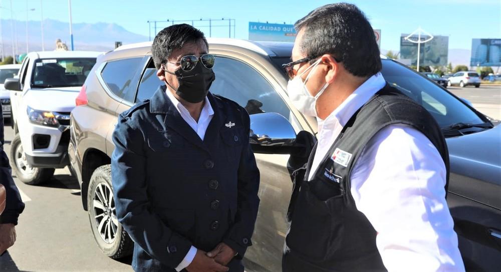 Autoridades se reúnen por crisis covid-19 en Arequipa, evaluando cuarentena.