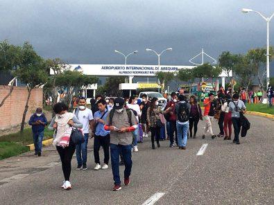 PCM anuncia cerco epidemiológico en Arequipa, controlarán transporte aéreo y terrestre