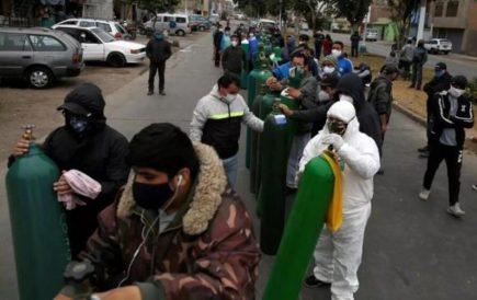 La demanda de oxígeno pone en aprietos a Arequipa