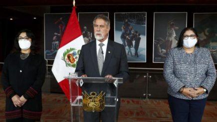 Francisco Sagasti: Rechazo que se incite a FF. AA. quebrantar Estado de Derecho
