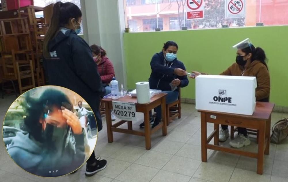 Intervienen a personera de Fuerza Popular en Tumbes, por marcar cedulas
