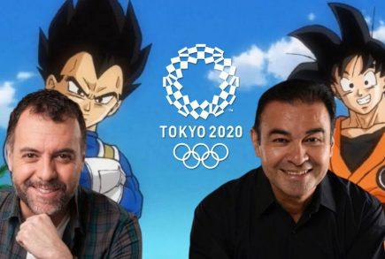 Los actores que dan voz a Gokú y Vegeta narrarán Tokio 2020