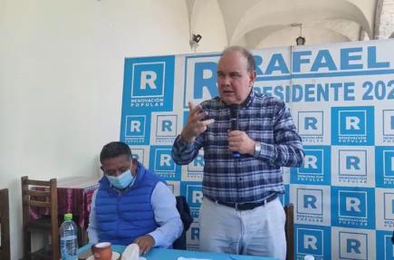 Rafael López Aliaga: Mi voto anticomunismo es mil veces superior a mi voto antikeiko