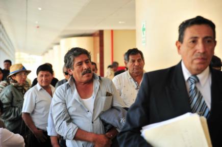 Suspenden orden de captura contra dirigentes del Valle de Tambo