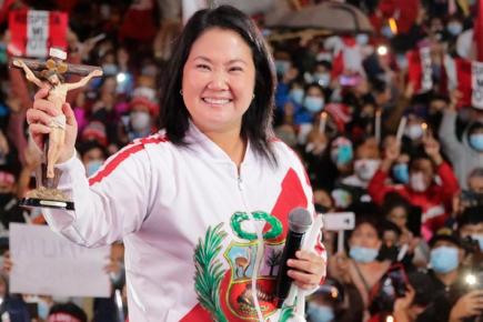 Keiko Fujimori en carta a Sagasti: hay pruebas e indicios de fraude