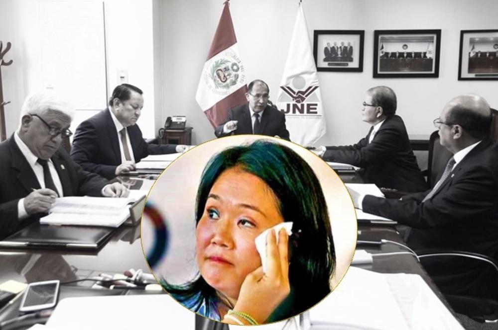 JNE amplía plazo para presentar nulidades, que favorecería a Keiko Fujimori.