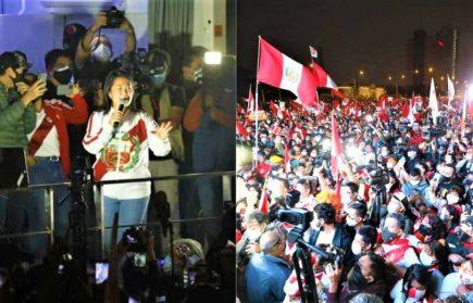 "Keiko Fujimori tras derrota al 100% de conteo: ""No nos van a callar"" (VIDEO)"