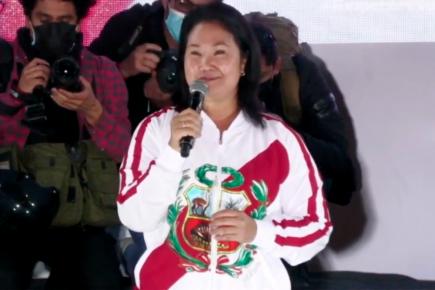 "Keiko Fujimori sobre ""vladiaudios"": ""Esto está armado de manera burda"""